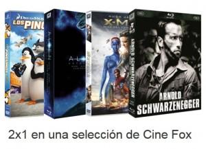 Promocion 2x1 Cine Fox