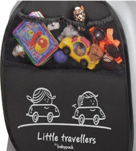 Protector de asiento Babyauto con compartimentos