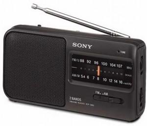 Radio portátil Sony ICF390