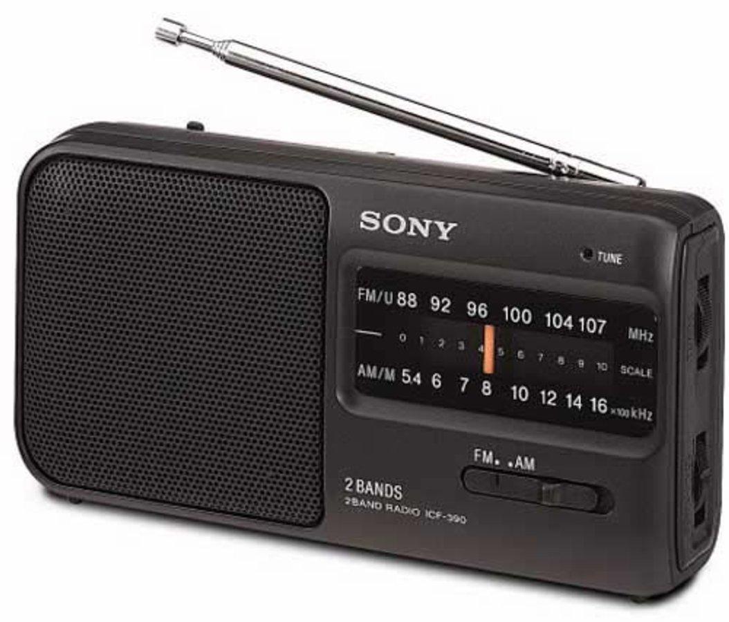 Sony Icf390 Radio Port 225 Til A Pilas Fm Am