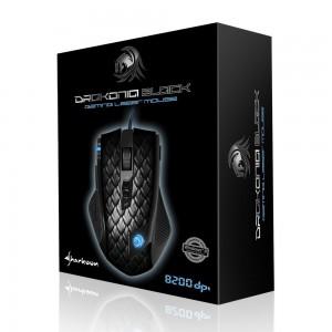Ratón Sharkoon Drakonia negro caja