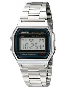 309c72564978 Reloj Casio A158W-1 plateado estilo Vintage