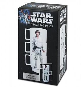 Set de 3 tazas apilables diseño Star Wars