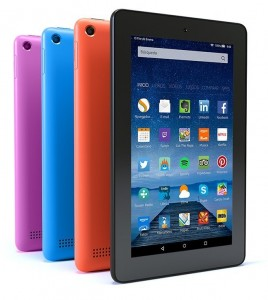 Tablet Kindle Fire varios colores