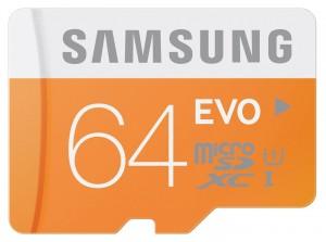 Tarjeta de memoria Samsung Evo 64GB