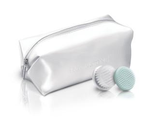 Cepillo limpiador facial femenino Remington FC1000 neceser y cabezales