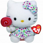 Hello Kitty con piruleta