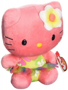 Hello Kitty peluche rosa