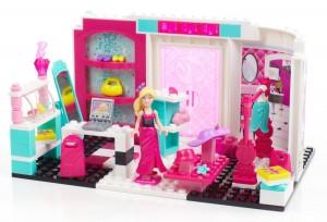 Mega Bloks Barbie 80225 Boutique montado