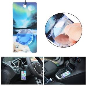 Pack de 4 ambientadores Aromate MA83 para el coche