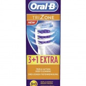 Pack de 4 cabezales Oral-B TriZone