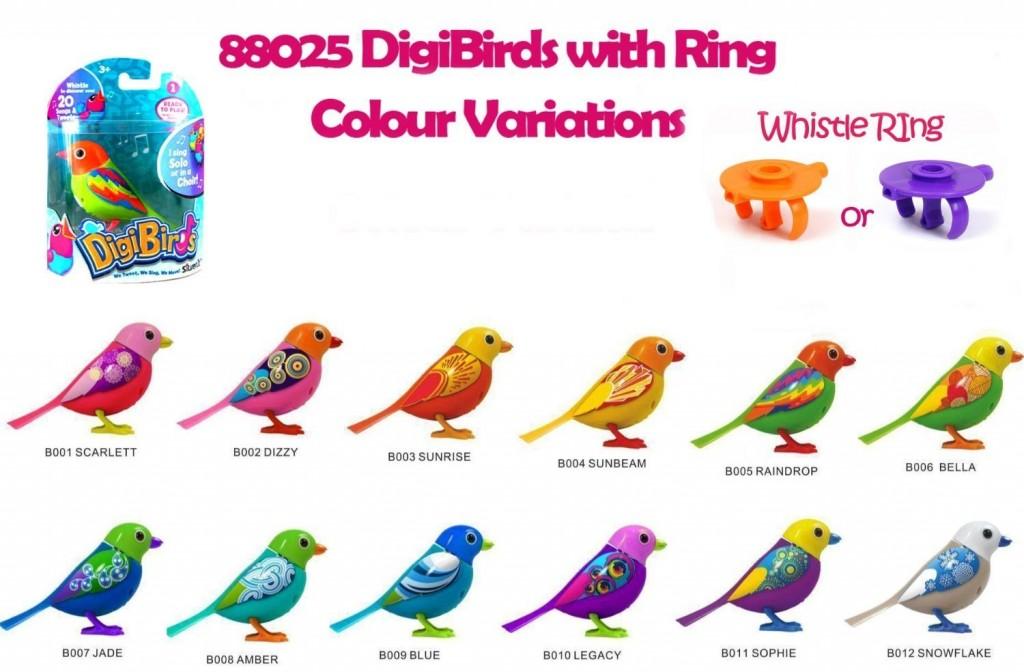 Pajaro Silverlit DigiBird varios colores