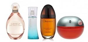 Sección perfumes y fragancias para mujeres