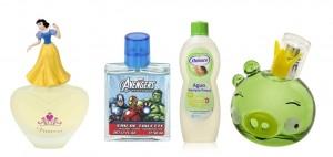 Sección perfumes y fragancias para niños