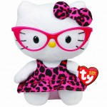 Peluche Hello Kitty con gafas