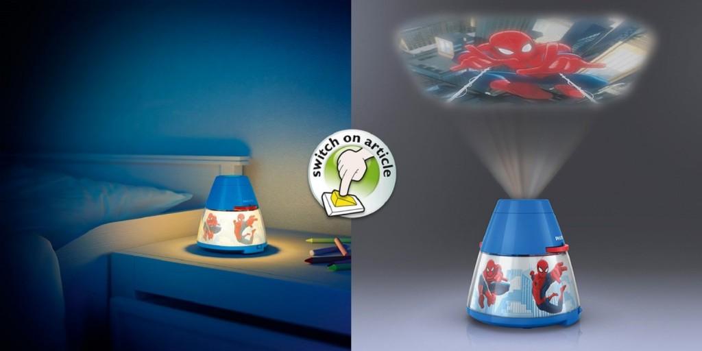 Philips Disney luz nocturna y proyector