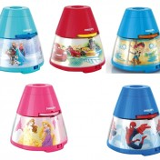 Proyector y luz nocturna 2 en 1 Philips Disney varios diseños