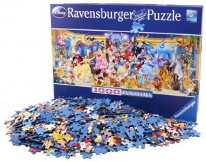 Puzzle de 1000 piezas Disney Panorama Ravensburger