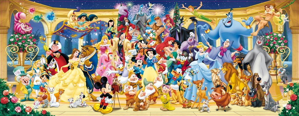 Puzzle de 1000 piezas Disney Panorama Ravensburger imagen
