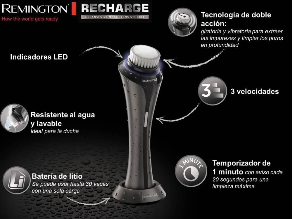 Remington FC2000 detalles