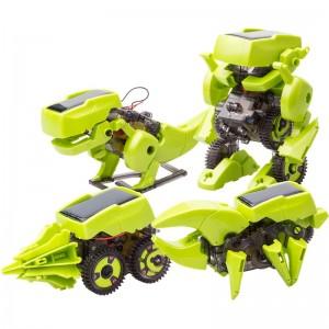 Set de montaje Robot solar 4 en 1
