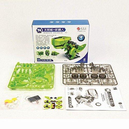 Set de montaje Robot solar 4 en 1 piezas