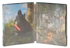 Star Wars Battlefront caja metálica por dentro