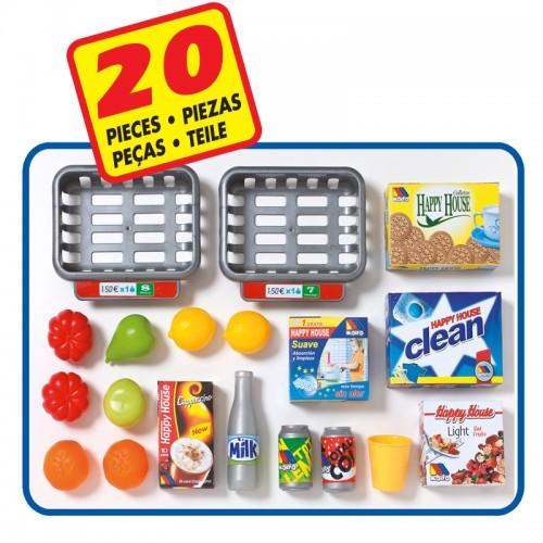 Supermercado y carrito Molto (12186) accesorios