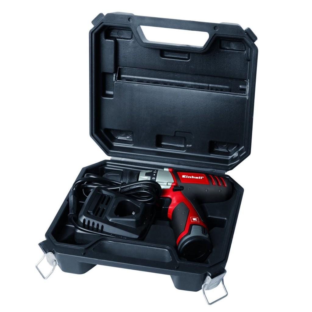 Taladro atornillador sin cable Einhell TC-CD 12 Li maletin