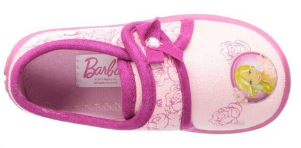 Zapatillas de estar por casa Barbie por dentro