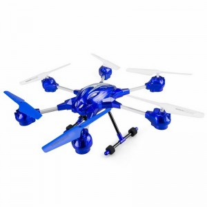 Hexa-Drone Radiocontrol con cámara incorporada