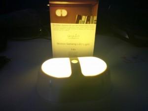 luz OxyLED T-05 encendida
