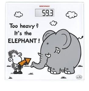 Báscula de baño Soehnle 63343 Sheepworld elephant