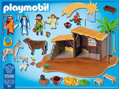 Belén con Establo Playmobil (5588) contenido