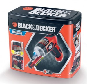 Black and Decker AS36LN-QW caja metálica
