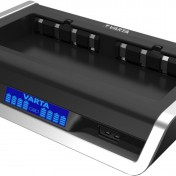 Cargador para 8 pilas Varta LCD Multi con puerto USB
