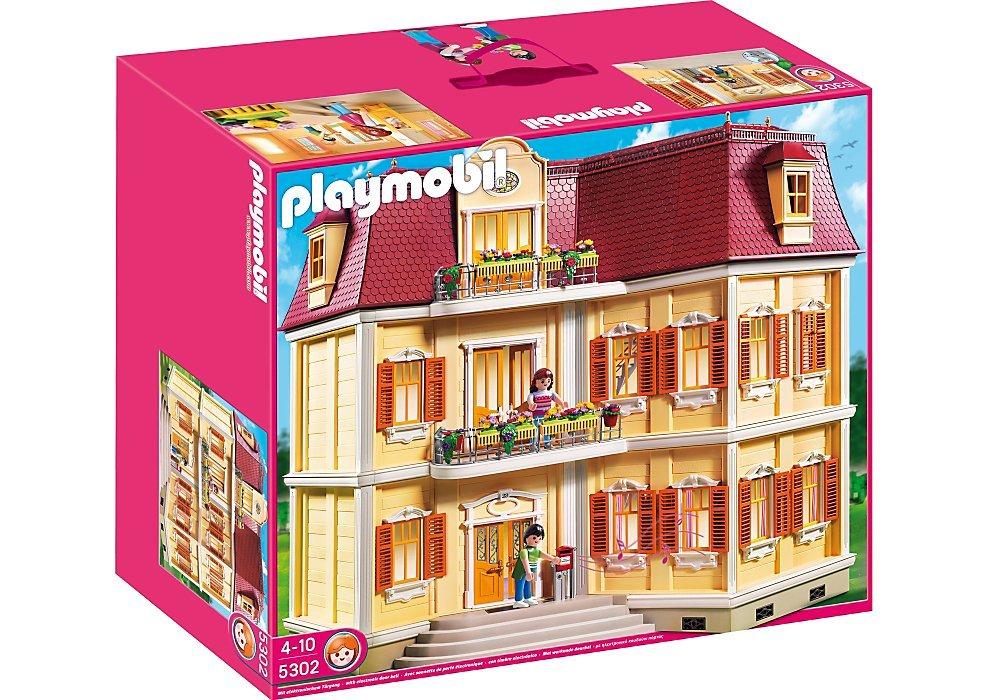 Casa de mu ecas playmobil 5302 - Gran casa de munecas playmobil ...