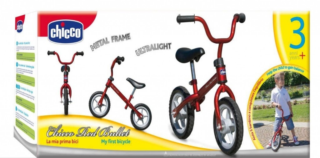Chicco First Bike con manillar y sillin regulable