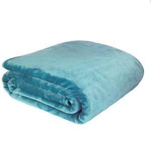 Manta Catherine Lansfield azul verdoso