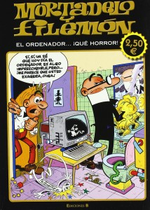 Mortadelo y Filemón el ordenador...que horror