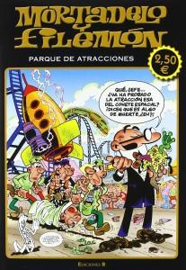 Mortadelo y Filemón parque de atracciones