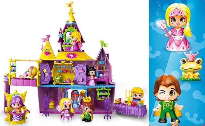 Palacio Princesas y Hadas Pinypon