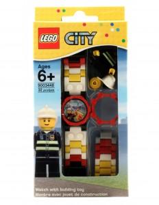 Reloj Lego city bombero caja