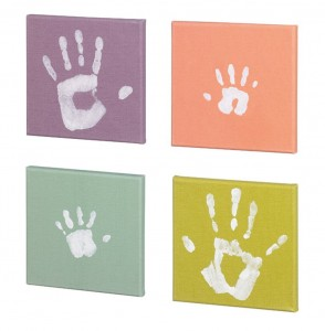 Set Baby Art Pop Art Print Paintings cada cuadro mide 20x20cm