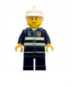incluye pequeña figura de un bombero