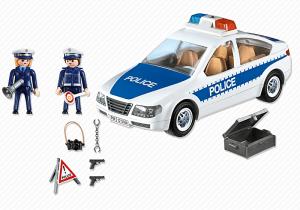 Accesorios Coche de Policía con luces Playmobil (5184)