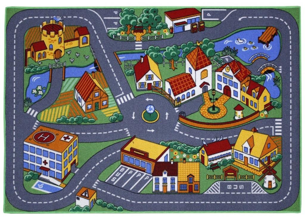 Alfombra infantil diseño ciudad Associated Weavers