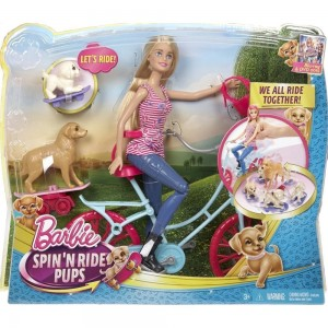 Bici de Barbie y sus Perritos Mattel