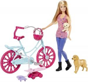 Bicicleta de Barbie y sus Perritos Mattel