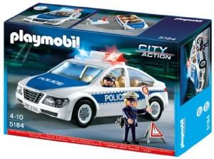 Coche de Policía con Luces Playmobil 5184
